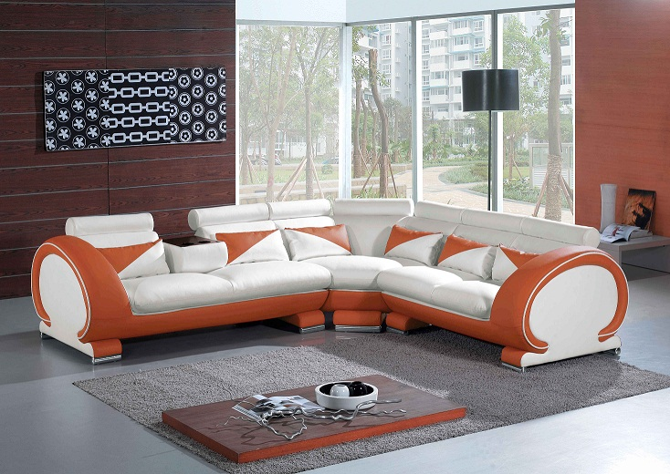 How To Blend Furniture With The Brown Colored Walls Of
