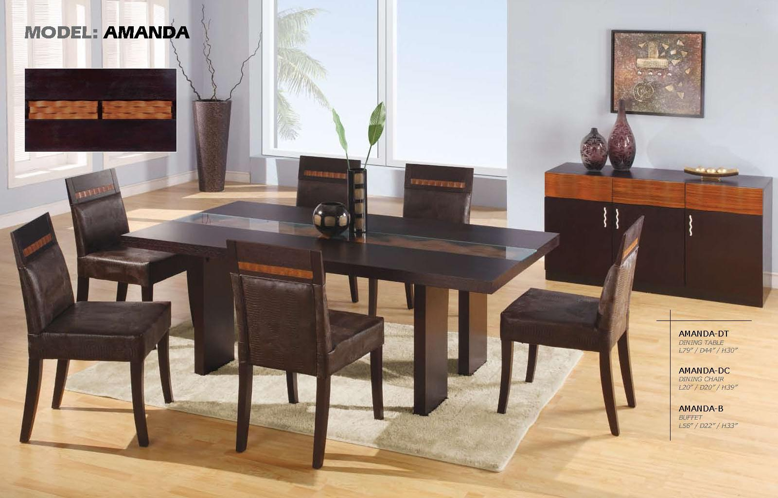 have fun while eating in your dining room la furniture blog. Black Bedroom Furniture Sets. Home Design Ideas