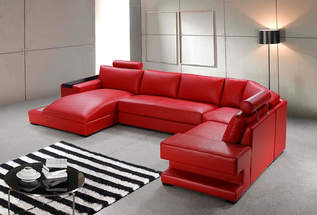 Choosing Pink and Red-Colored Furniture for Your Living Room - LA ...