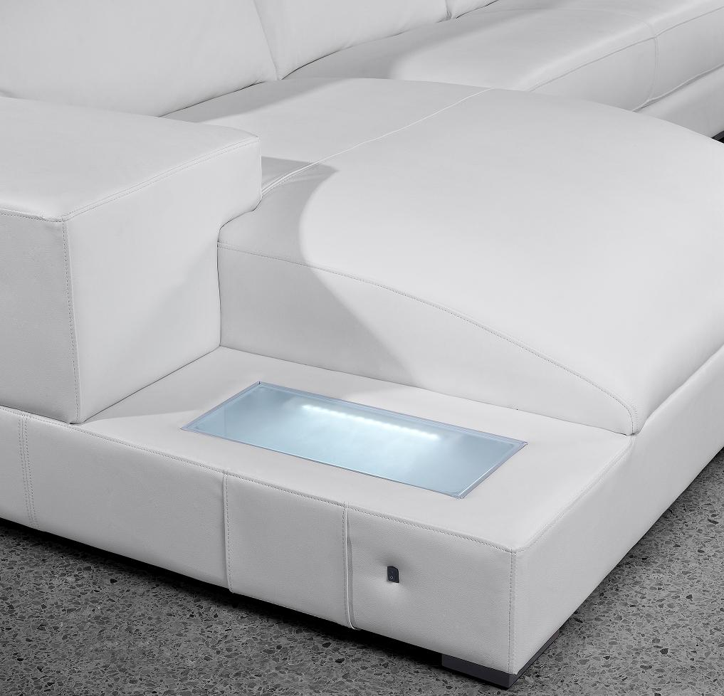 Orion modern white leather sofa set simplicity that for White modern leather sofa