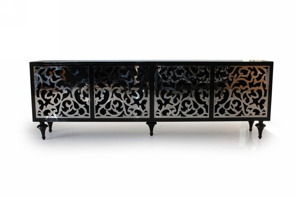 Furniture Buffet The 548 Modern 4 Cabinet Sophistication Beyond Structure And Usefulness