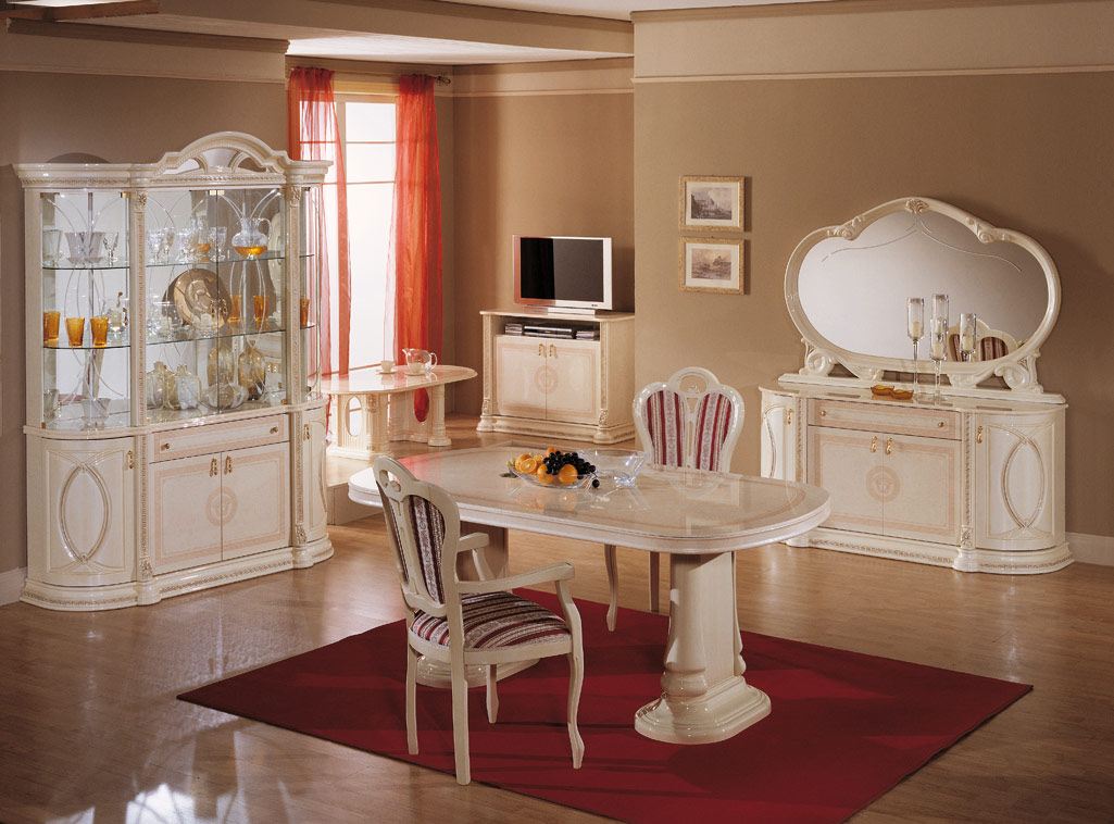 stunning italian lacquer dining room furniture gallery