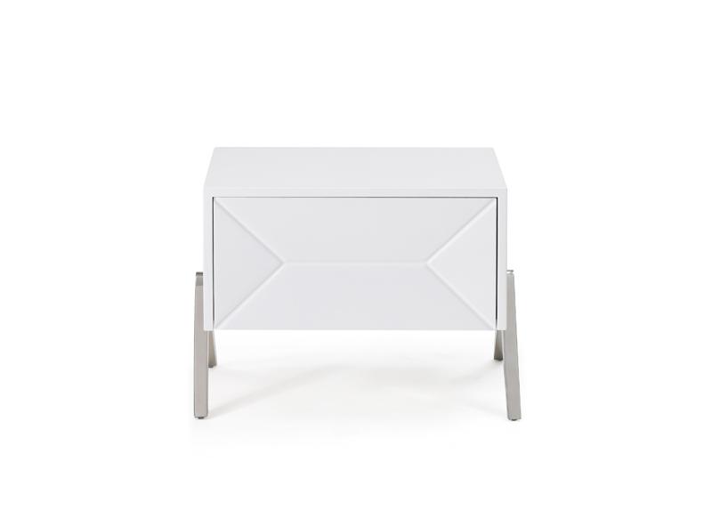 Modrest Candid Modern White Nightstand