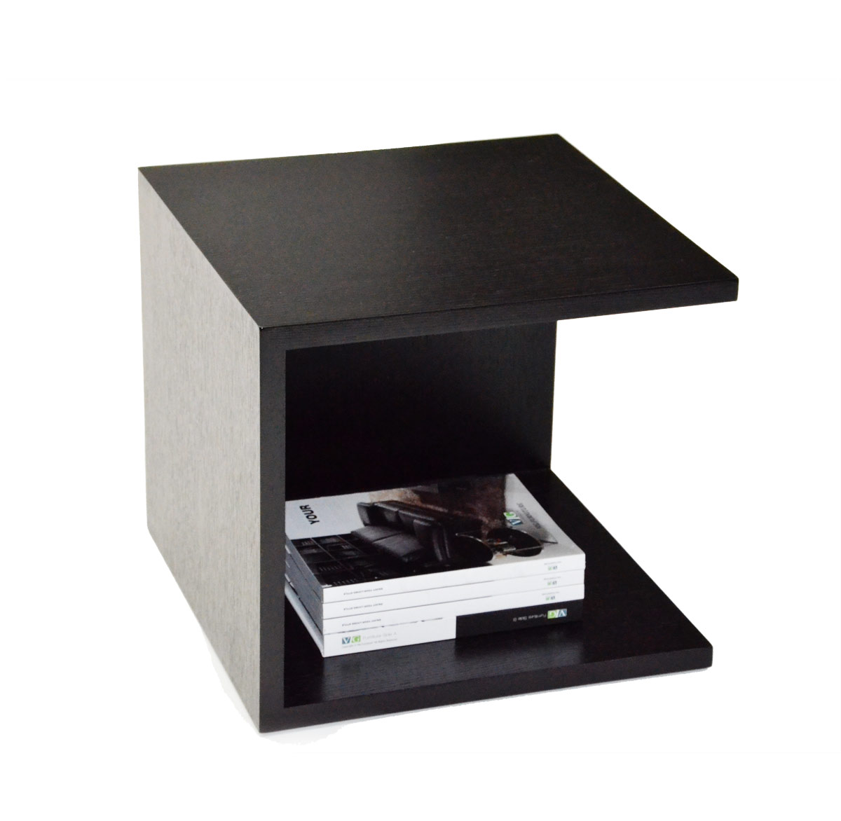 846et Modern 2-tier Nightstand