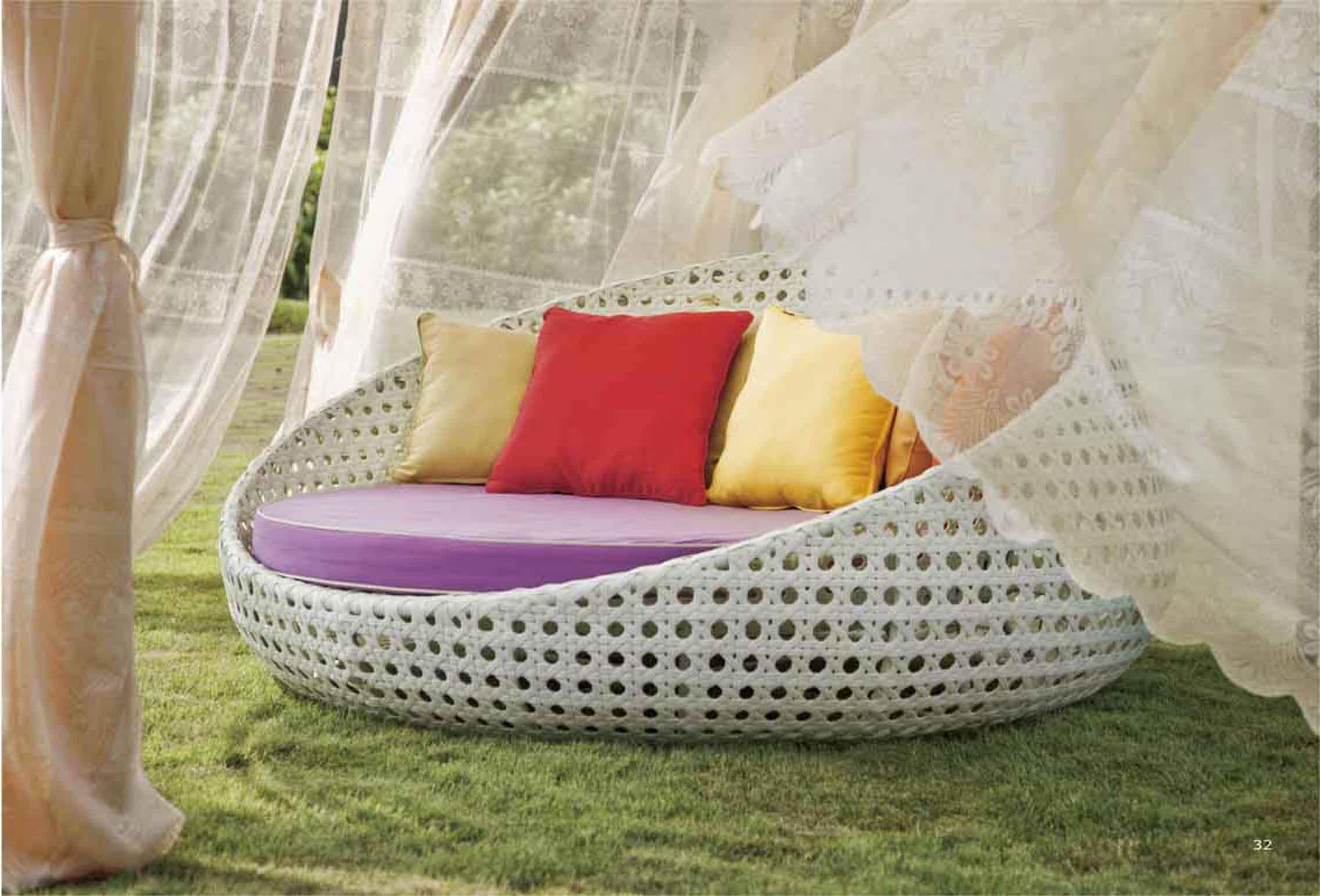 S3056 round bed