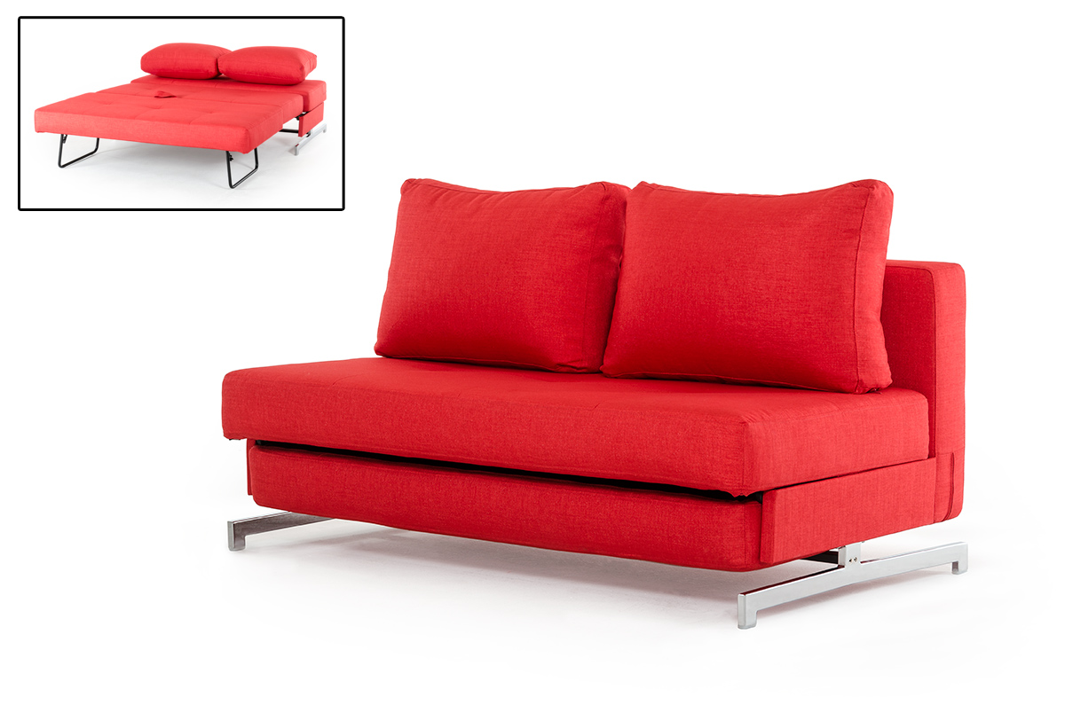 Red Sofa Bed Canada