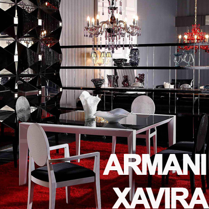 Lacquer High Quality Furniture from Armani Xavira