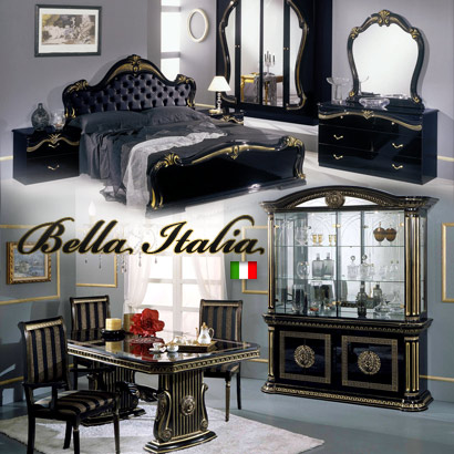 Classic Italian High Gloss Traditional Furniture
